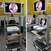 Image Storage, double LCD screen, LED light source, high definition portable usb snake endoscopy camera equipment