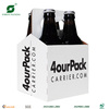 4 PACK PAPER WINE CARRIER FP73073