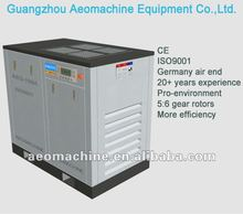 Direct & Belt driven stationary 3ph/380v/50hz price of ac power gas compressor 75KW, CE, ISO9001 double screw type