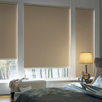 Modern Elegant Spring System Window Treatments Striped Entrance Roller Blinds Decorative Curtains