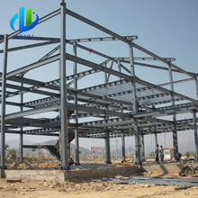 light and simple prefabricated steel structure warehouse export
