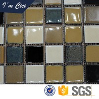 China good manufacturers ceramic mosaic roof tiles