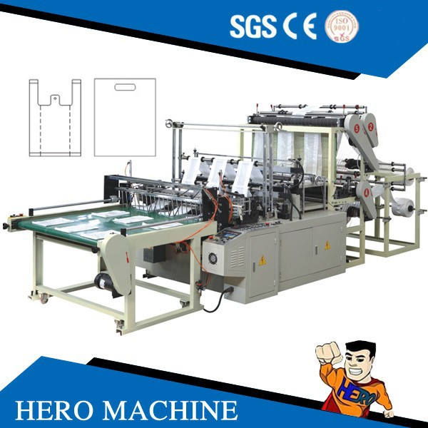 Automic two layers FOUR layer PE film blowing machine blown film extrusion machine
