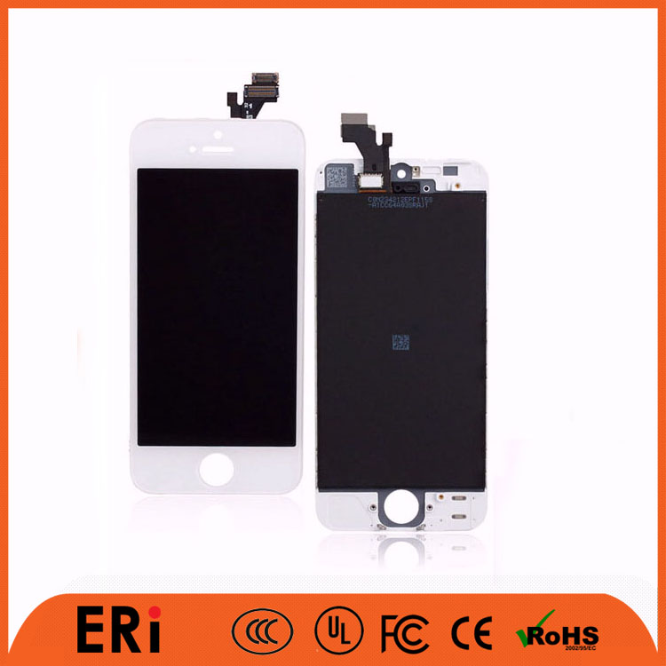 More factory promotion cell phone lcd replacement parts 5 5G, cell phone lcd for iphone 5 5G