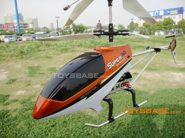 9051 The newest 3CH RC Metal Helicopter with Gyro