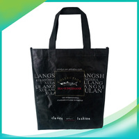 Top new design nonwoven shopping bag with logo for market promotion