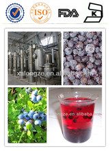 Low heavy metal organic blueberry extract