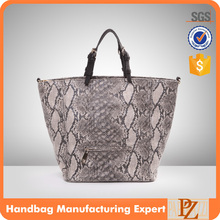 4932 Famous Designer ladies fashion python snake hand bags woman tote handbag 2016