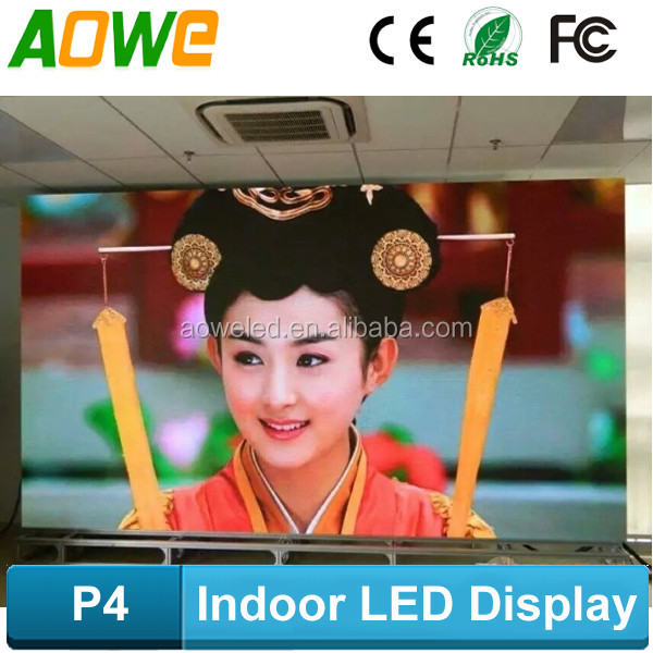 P4 Indoor LED Full Color Display hot dance video