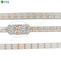 15mm 120 leds smd5050 rgb ws2812b 5v dotstar double Led Strip