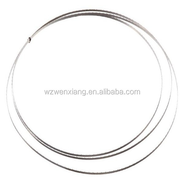 High quality narrow band saw blade for cutting wood