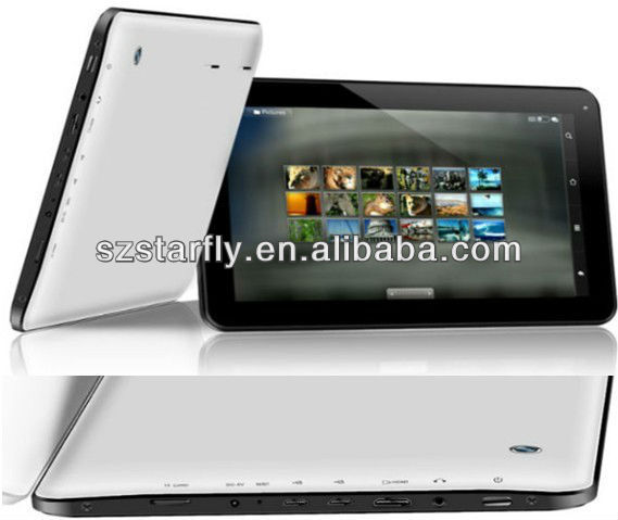 10 Inch Tablet PC With Android 4.2 Boxchip A13 Processor Cotex A9 Dual Core CPU 1.5GHz+1GB Ram+8GB HD + HDMI On Model A120