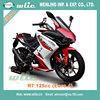 Eec best selling new design approved scooter approval Racing Motorcycle R7 125CC with Euro 4 Water cooled EFI system