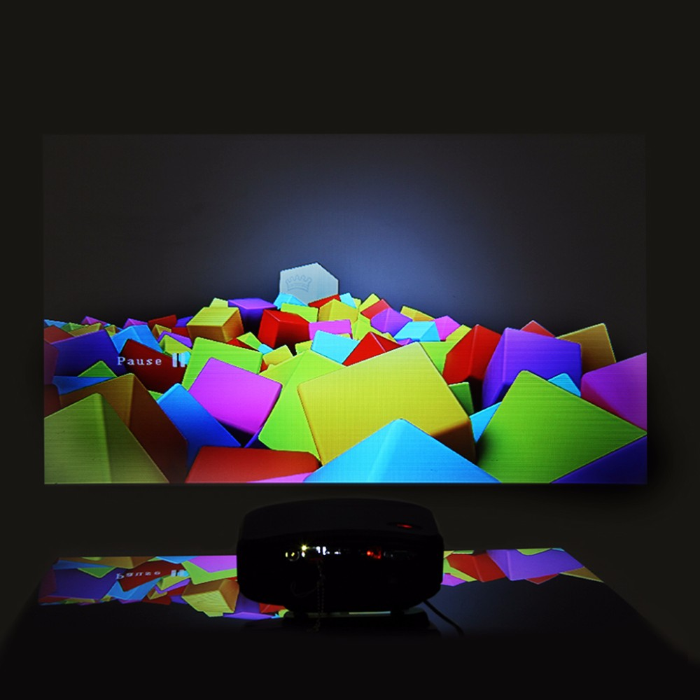 cheerlux c6 2016best selling ! mini projector for gift support 3D HD projector 720p 1080p in shenzhen shi