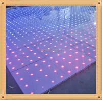 wedding dance floor/led acrylic dance floor/star light dance floor