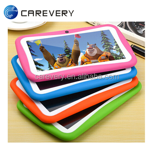 High Quality 7inch Quad Core Kids Tablet Children Tablet, Shock proof 7'' plastic case android kids tablet