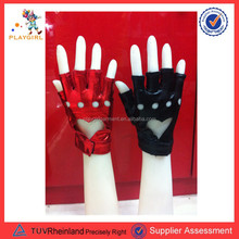 2015 cheap sell punk rock star gloves for 80s party PGGL-0162