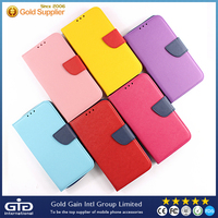 [GGIT] Candy Color Universal Leather Flip Case for All Mobile Phone Silicone Case