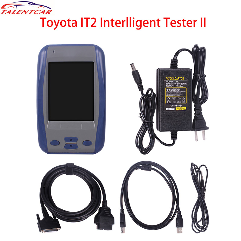 Super Quality Toy-ota IT2 for Toy-ota Intelligent Tester 2 Sanner Denso Tester II Auto Diagnostic Tool with Muti-languages