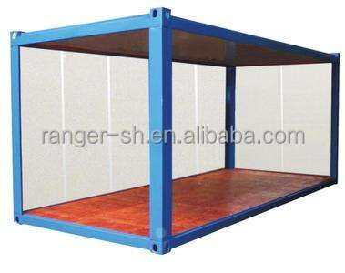 China flat packed container house / office container foldable container mobile home