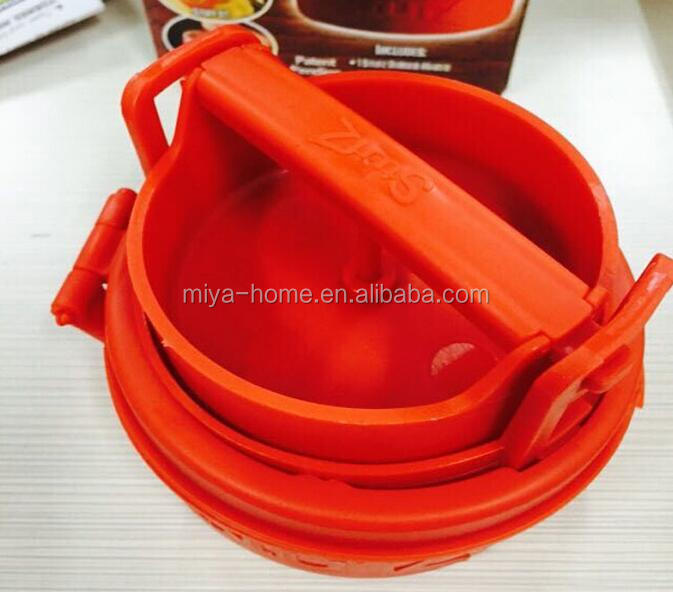 Plastic Manual Single Hamburger Press Maker For Kitchen/ Burger Press, Hamburger Grill BBQ Patty Maker Juicy As Seen On TV