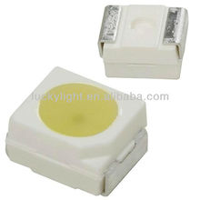 SMD 3528 LED with PLCC2, warm white 3000K, forward current, 20mA, 7lm