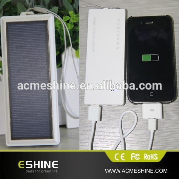 Emergency Solar Battery Charger for iPhone iPod MP3 MP4 Mobile Phones