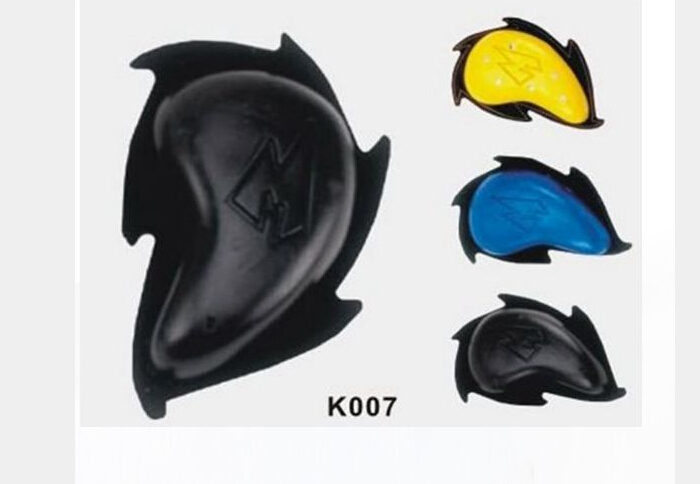 2014 Motorcycle racing knee sliders Safety Protector Removable Velcro Knee Sliders