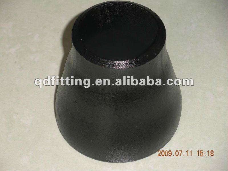 carbon steel con butt welded CS piping fitting