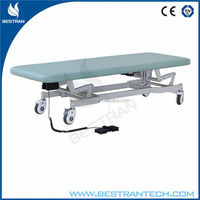 BT-EA008 CE ISO high quality medical motor examination bed , electric physiotherapy examination couch