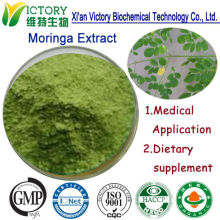 100% Organic Pure Rich Vitamin C freeze dried moringa leaf powder