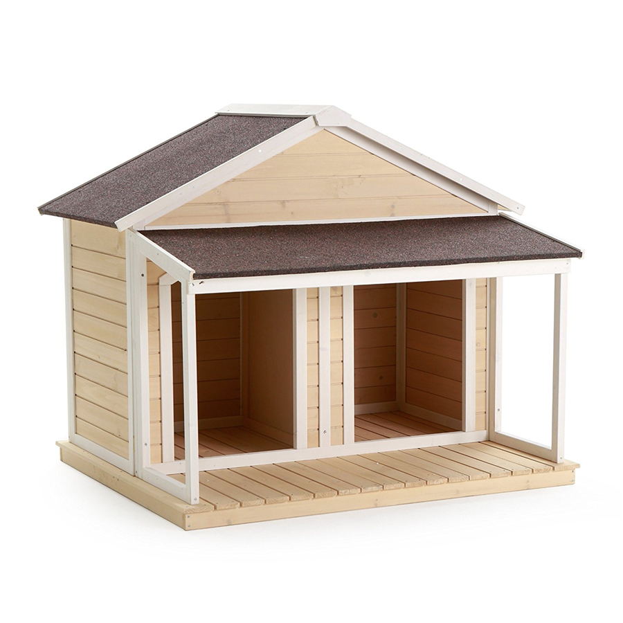 wholesale cheap waterproof wooden dog kennel factory direct sell