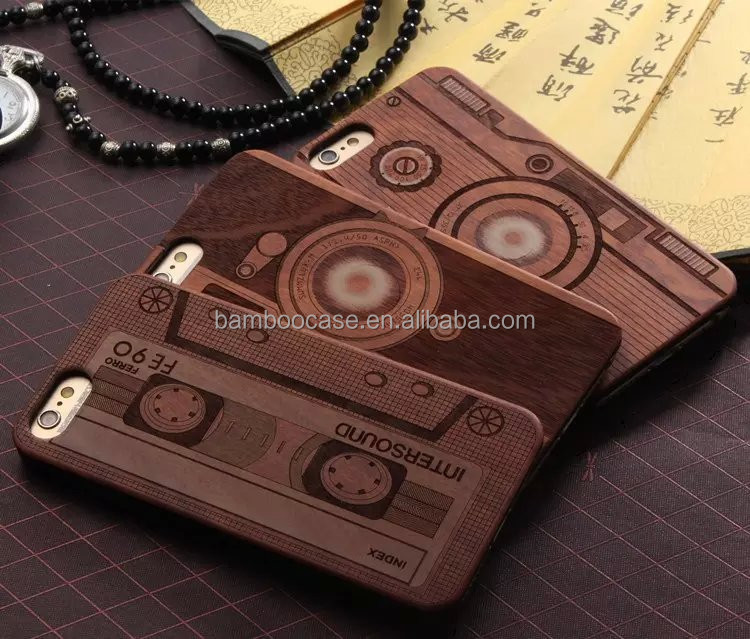 Luxury 3d Engraving wooden phone cases for iPhone7,new phone cases for iphone,mobile phone accessories