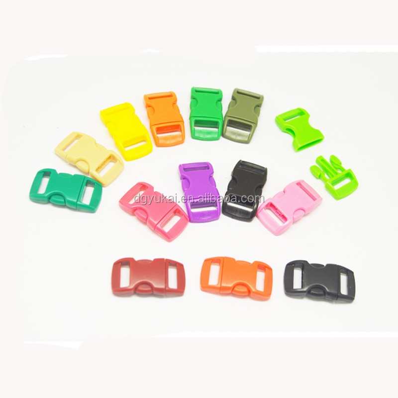 plastic curved buckle for backpack & handbags