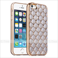 For iPhone5S 5 SE Air-cushioned Shockproof TPU Case, Hard TPU Protective Cover Case for iPhone 5s 5 SE