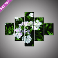 Home Interior Design Modern Art Pictures Flower Pattern Decorative Painting