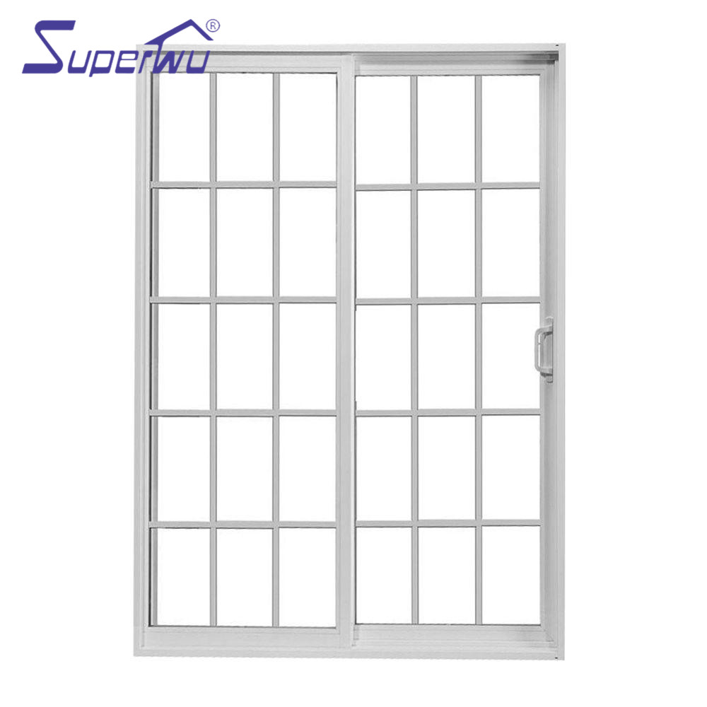 Shanghai manufacturer double glass container house pvc sliding door