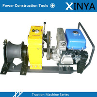 8 Ton Gasoline Powered Gear Winch With Yamaha Engine