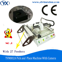Excellent Craftsmanship Full Automatic LED/ SMD Assembly Line, Vision BGA Pick & Place Machine with 27 Feeders and Double Vision