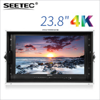 Seetec new 24 inch desktop monitor with 3840x2160 resolution ips panel HDMI SDI 4K238-9HSD-CO