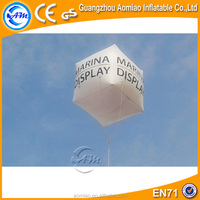 Cheap inflatable helium square balloon/custom helium balloon