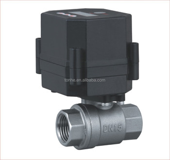 12V/24V 2Way 1/2 inch Actuated water Timer Drain Valve For Automatic sets (S15-S2-C)