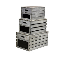 Promotion cheap wooden wine crate for sale