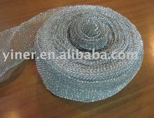 Galvanized wire mesh for making scourer