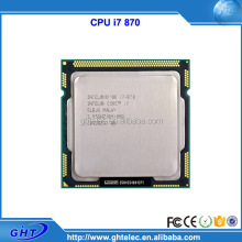 China wholesale 64bits 8MB Cache i7-870 cpu i7