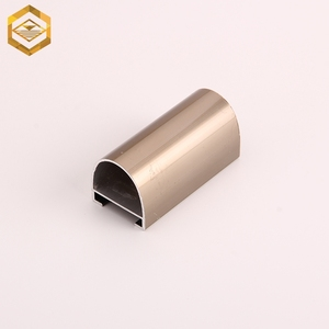 Wholesale Factory Price Electrophoresis Titanium Golden Handrail Aluminum Profile