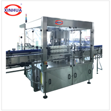 automatic hot melt adhesive glue labeling machine for bottles
