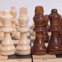 High Quality Intellectual Board Wooden Chess Cheap Sets Adult Game wholesale chess board