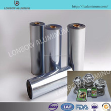 Factory price gauge with 0.025mm to 0.05mm aluminum lid foil