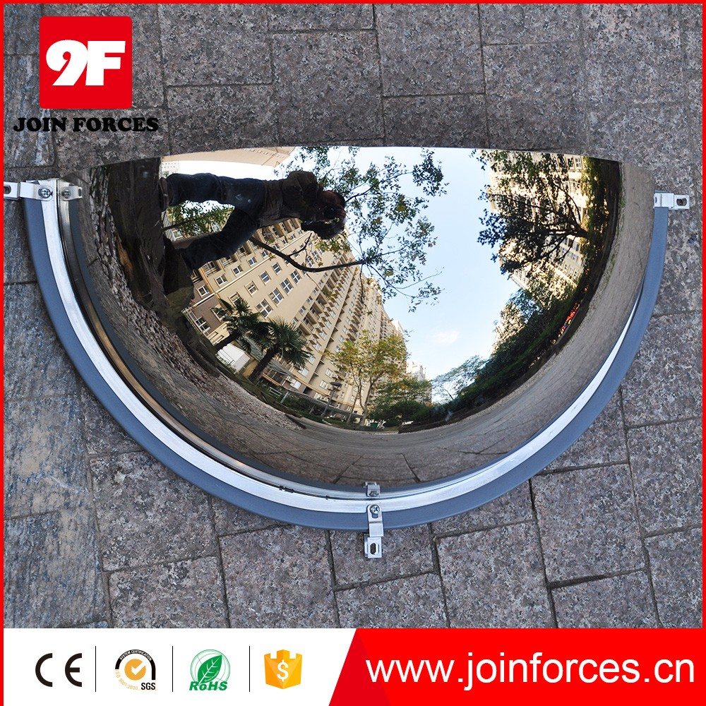 "9F 60cm/24""Inch acrylic half dome safety mirror"
